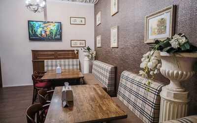 Банкетный зал бара, ресторана Cheddar на проспекте Народного Ополчения