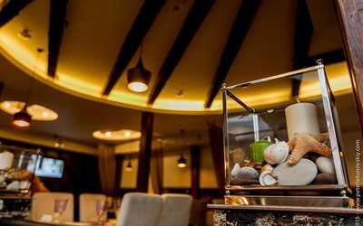 Банкетный зал ресторана Клёво на проспекте Энгельса