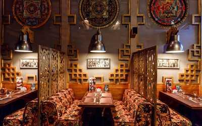 Банкетный зал ресторана Aura на улице Ленинской Слобода