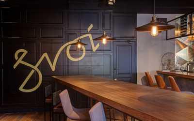 Банкетный зал бара, пивного ресторана Svoi (Свои) на набережной Реки Фонтанки фото 2