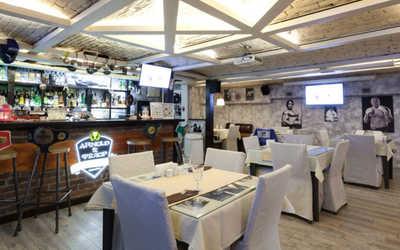 Банкетный зал ресторана Арнольд и Федор (Arnold&Фёдор) на улице Чайковского