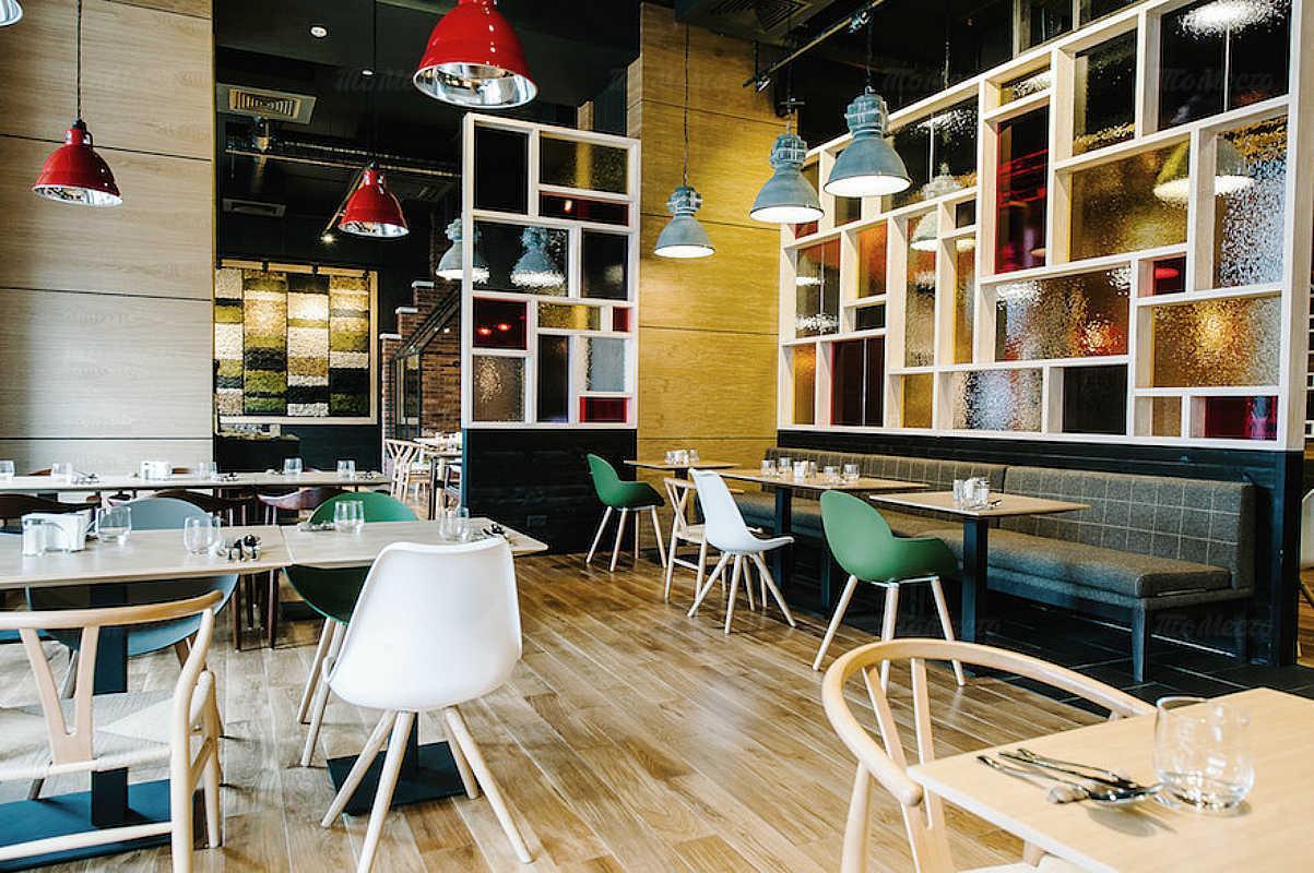 Меню ресторана Новый свет на улице Хошимина