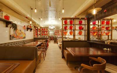 Банкетный зал кафе, ресторана Компот на улице Арбат