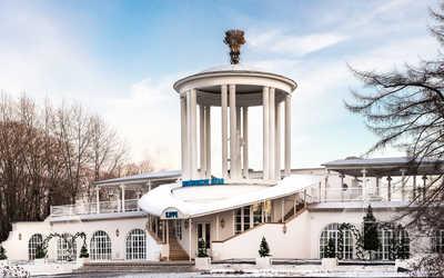 Банкетный зал ресторана Московское небо на проспекте Мира