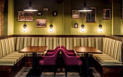 Банкетный зал гастропаба, кафе, ресторана Эдисонс на Воронцовской улице фото 3