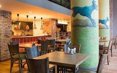 Банкетный зал кафе Зеленая собака на улице Земляной Вал