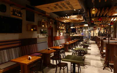 Банкетный зал ресторана Bigrib (БигРиб) на Садовнической набережной