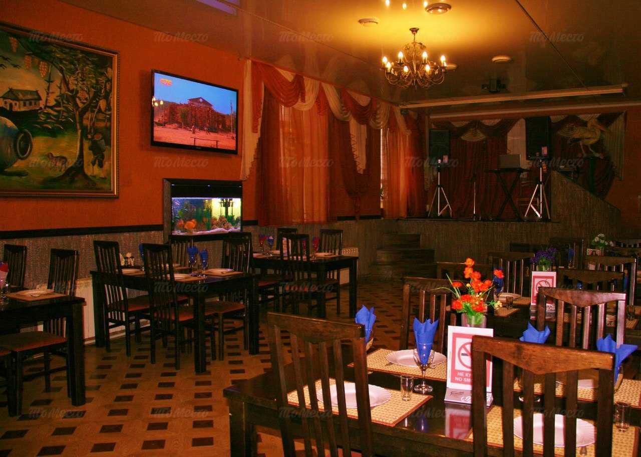 Меню кафе Пеликан на улице Котовского