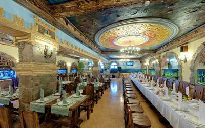 Банкетный зал ресторана Водопад на улице Юных Ленинцев