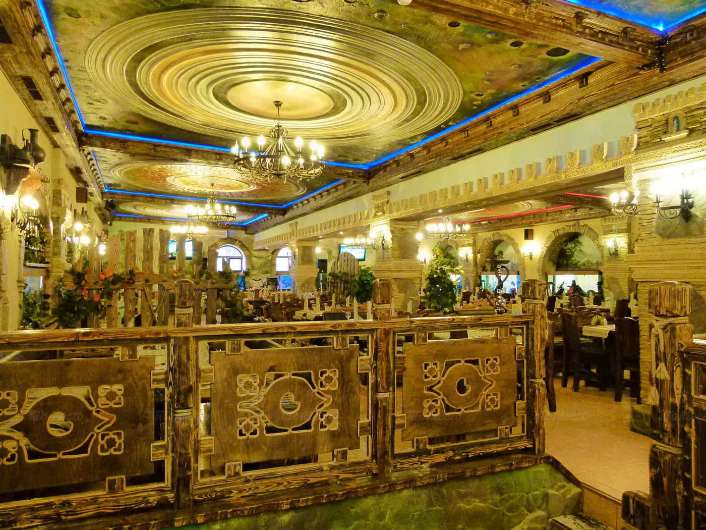 Меню ресторана Водопад на улице Юных Ленинцев