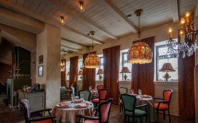 Банкетный зал ресторана Московская кухмистерская на Большой Никитской улице