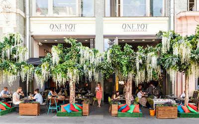 Банкетный зал ресторана One Pot на улице Большой Дмитровке