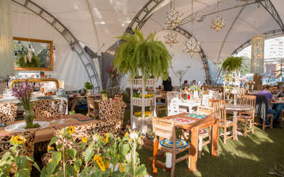 Банкетный зал ресторана Черёмушки на проспекте Энгельса