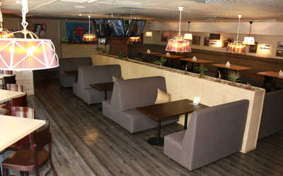 Банкетный зал пивного ресторана Гент на улице Барклая
