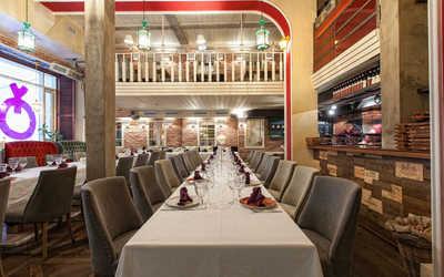 Банкетный зал ресторана Ткемали на Пушечной улице