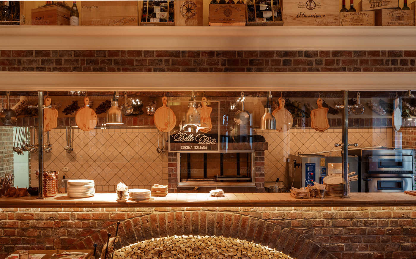 Меню ресторана Bella Pasta (Белла Паста) на улице Солянка