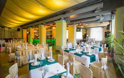 Банкетный зал ресторана Волга на Волжском проспекте