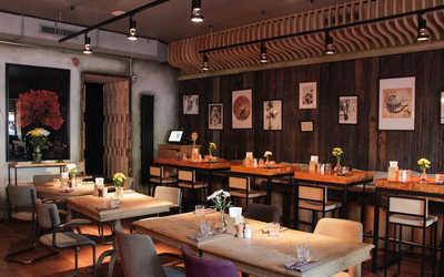 Банкетный зал кафе Чугунный мост на улице Пятницкой