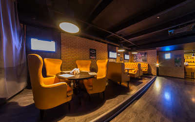 Банкетный зал ночного клуба Black & White Bar на Волгоградском проспекте фото 3