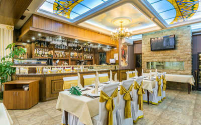 Банкетный зал ресторана Грин Палас на улице Грина