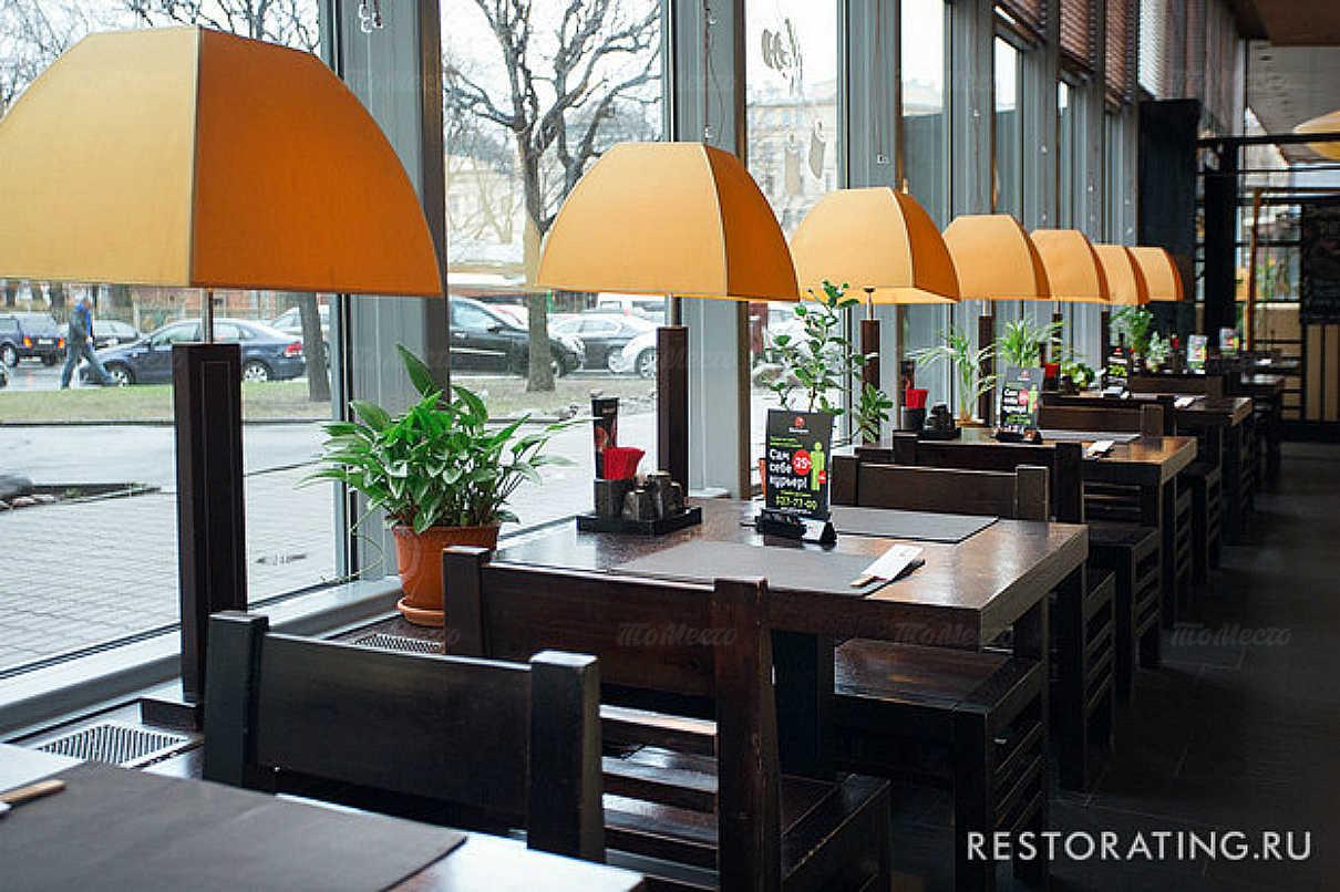 Меню ресторана Якитория MOJO на Петровской набережной