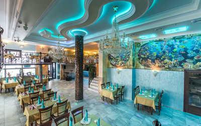 Банкетный зал ресторана Аквариум на территории Воронцовский Парк