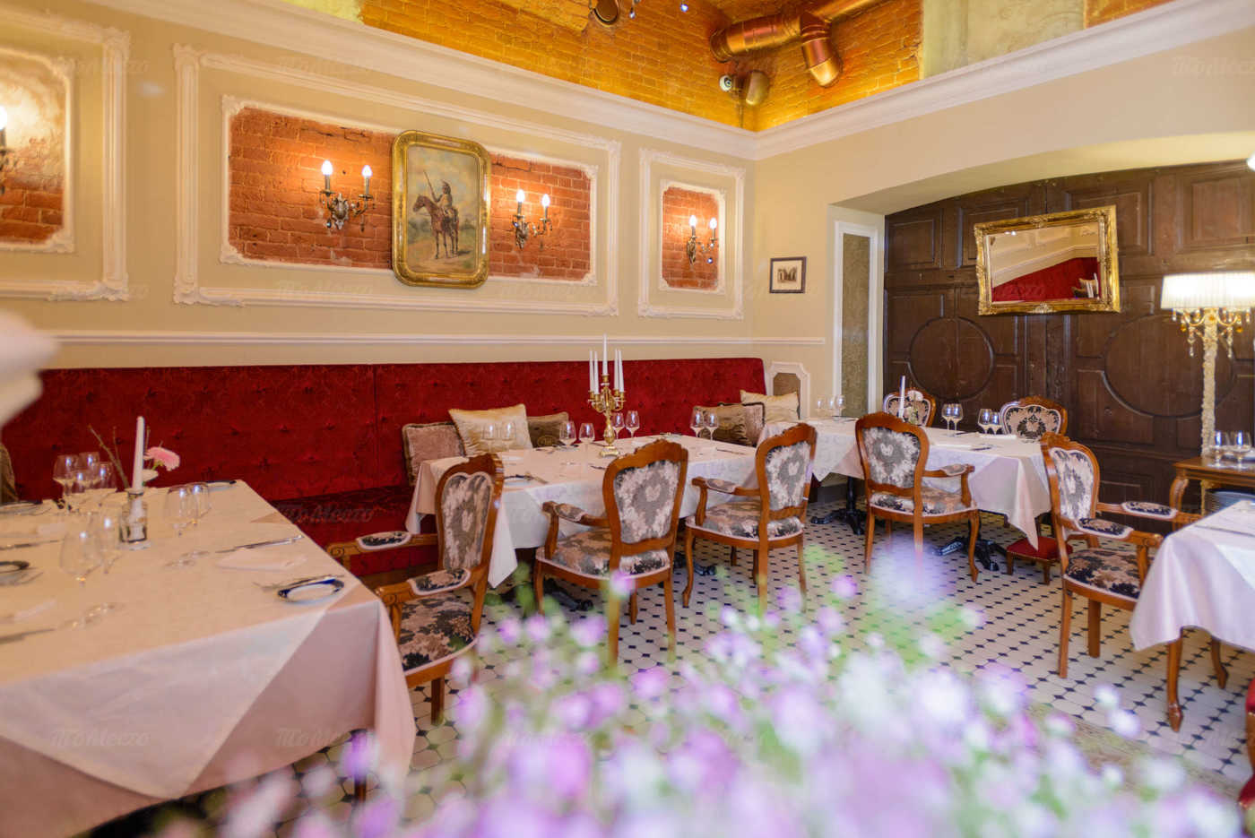 Меню ресторана Штакеншнейдер на Миллионной улице