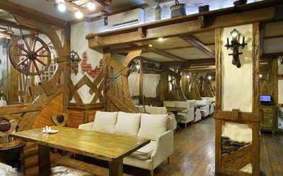 Банкетный зал ресторана Повозка на улице Часовой