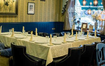 Банкетный зал ресторана Белый Кролик на Московской улице