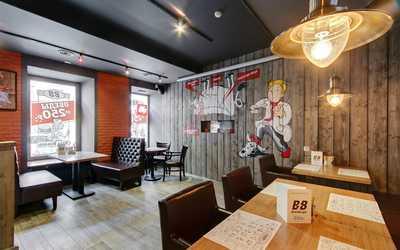 Банкетный зал бара Beer Burger на Большом проспекте ПС