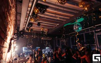 Банкетный зал бара ROOF cocktail bar на улице Саид-Галеева фото 2