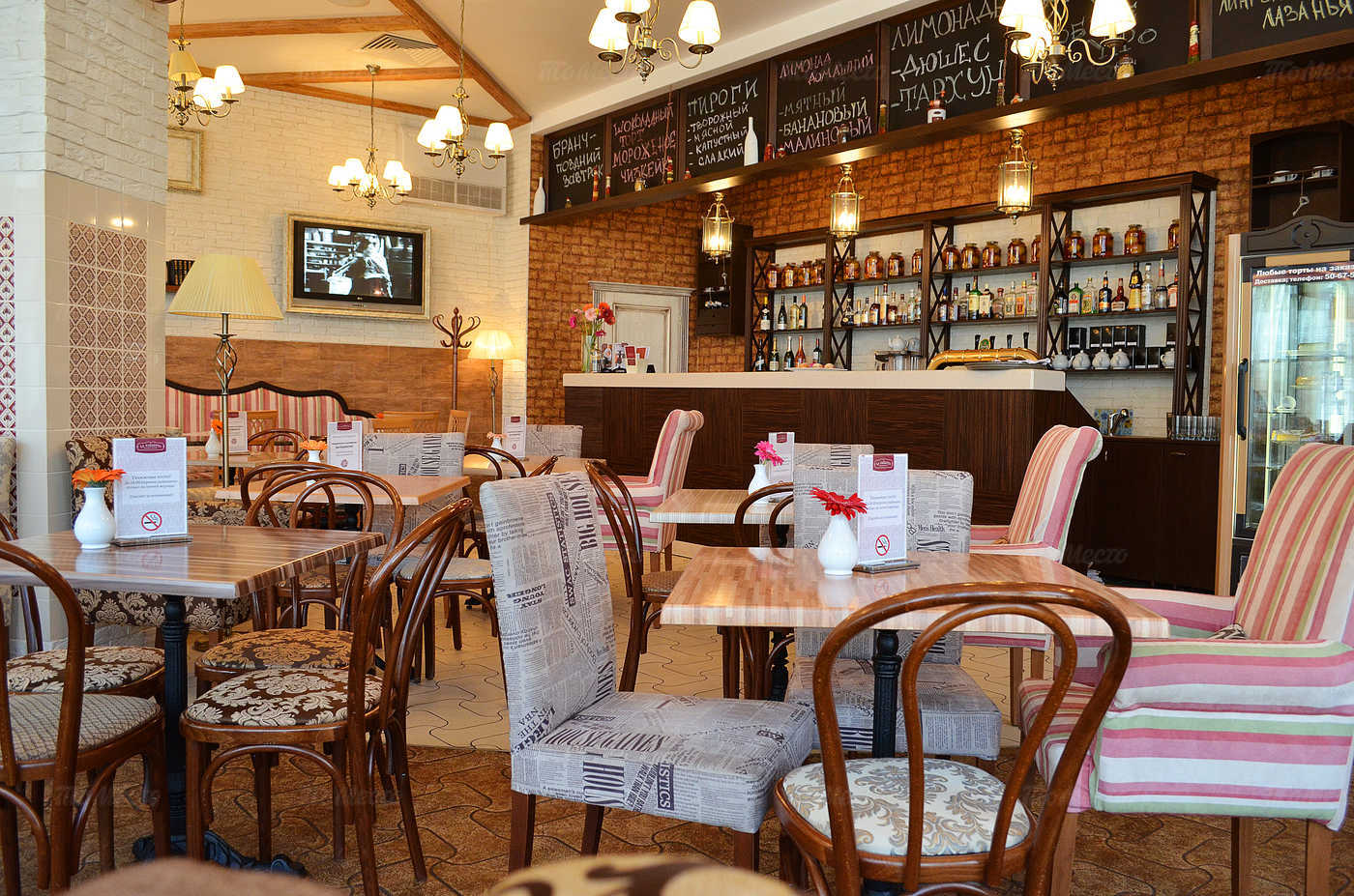 Кафе ля газзетта (la gazzetta) на бульваре энгельса: меню и .