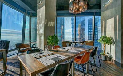 Банкетный зал ресторана Авиатор (Aviator) на Пресненской набережной фото 1