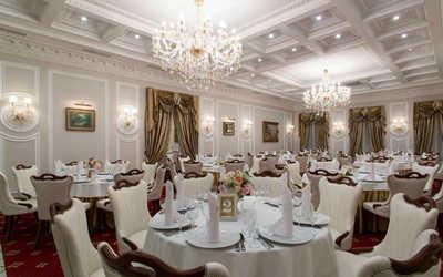 Банкетный зал ресторана Особняк Глуховского на набережной Адмирала Лазарева фото 3