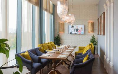 Банкетный зал ресторана Баклажан на Кутузовском проспекте фото 3
