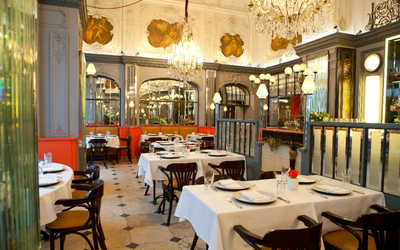 Банкетный зал ресторана Brasserie МОСТ на улице Кузнецкий Мост фото 3