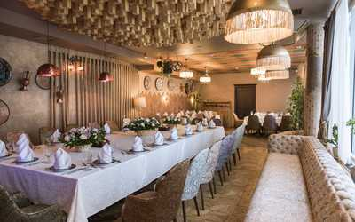 Банкетный зал ресторана Чайхана Инжир на Каланчевской улице фото 3