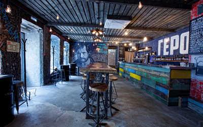 Банкетный зал бара Герои на Трубной улице фото 1