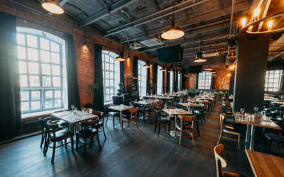 Банкетный зал ресторана Большевик Лофт на Ленинградском проспекте фото 1