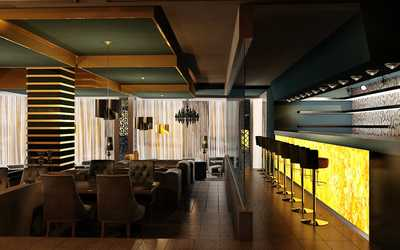 Банкетный зал ресторана Five на улице Малышева