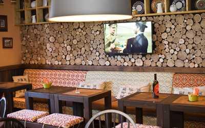 Банкетный зал ресторана Пхали-Хинкали на проспекте Просвещения фото 3