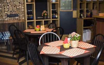 Банкетный зал ресторана Пхали-Хинкали на проспекте Просвещения фото 2
