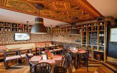 Банкетный зал ресторана Пхали-Хинкали на проспекте Просвещения фото 1
