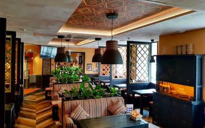 Банкетный зал ресторана Пхали-Хинкали на Комендантском проспекте фото 3