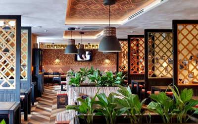 Банкетный зал ресторана Пхали-Хинкали на Комендантском проспекте фото 1