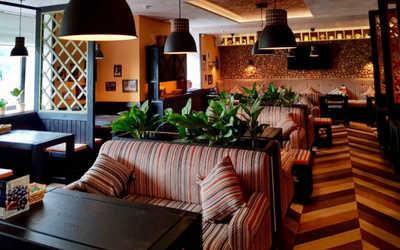 Банкетный зал ресторана Пхали-Хинкали на Комендантском проспекте фото 2