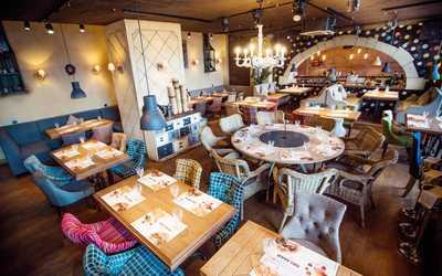 Банкетный зал ресторана Del Mar (Дель Мар) на проспекте Славы фото 2
