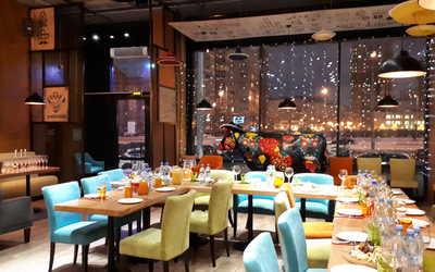 Банкетный зал ресторана La Cucaracha (Ла Кукарача) на улице Оптиков фото 1