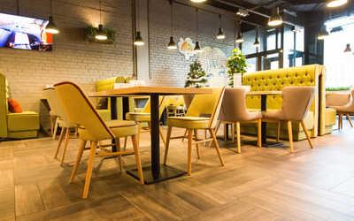 Банкетный зал ресторана Upgrade (Апгрейд) на улице Оптиков фото 1
