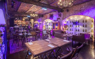 Банкетный зал ресторана 12 wine bar на Кутузовском проспекте фото 1